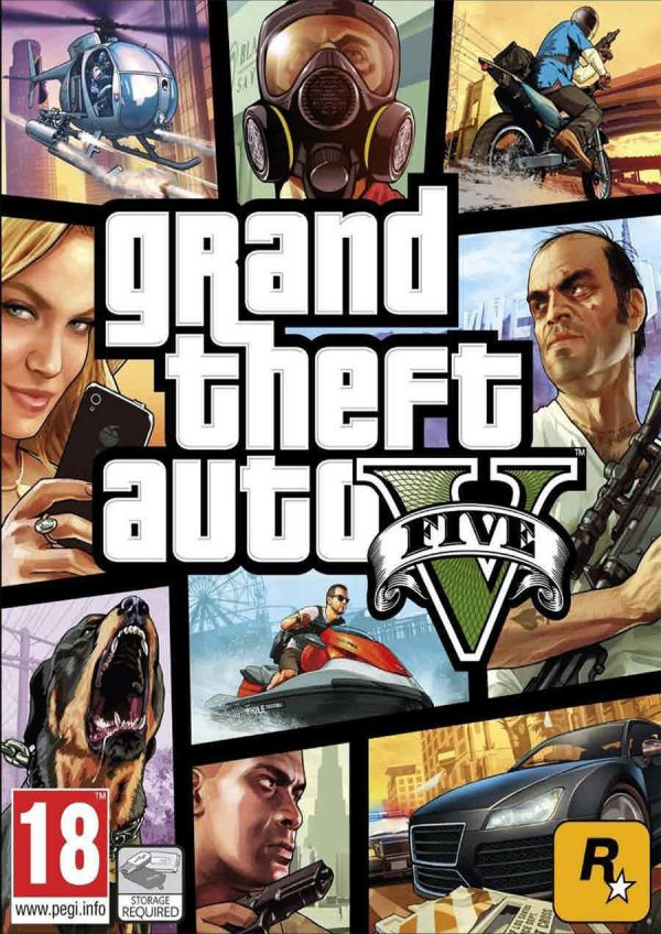 Grand Theft Auto V استیم